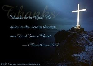 1 Corinthians 15;57