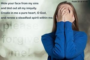 Psalm 51;9-10